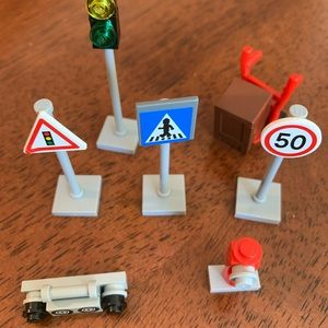 Lego Toys - LEGO 8401 City People Accessories